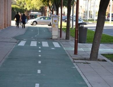 ¿Me pueden sancionar si como peatón utilizo un carril bici?